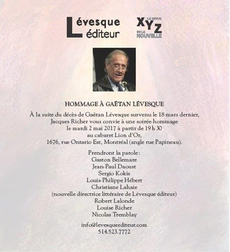 Invitation Hommage