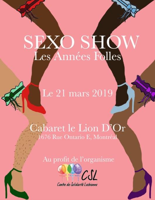 affiche sexo show
