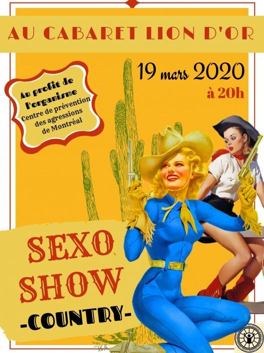 Affiche promo sexoshow2020
