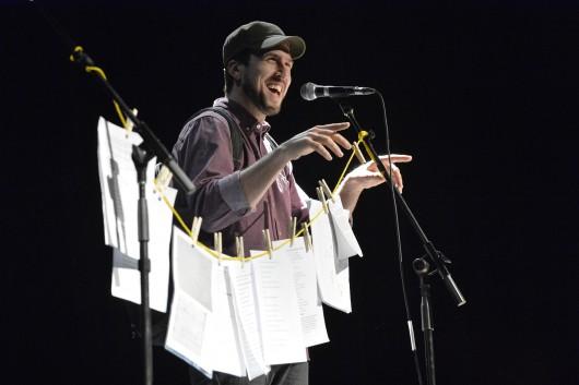 Crédit Photo: Maxime Picard Journaliste: Camille Nouveau spectacle de David Goudreault à la Salle du Parvis