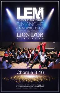 chorale 3-16