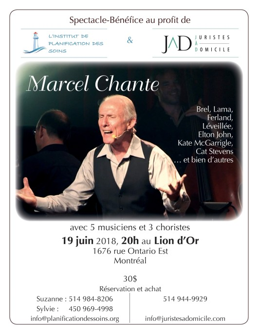 marcel chante